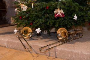 Weihnachtliche Posaunenklänge aus der Rieterkirche